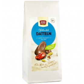 ROSEN GARTEN – Curmale glazurate in ciocolata cu lapte, bio, 100 g