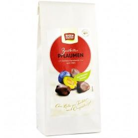 ROSEN GARTEN – Prune glazurate in ciocolata neagra, bio, 100 g