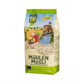 Musli Bio Macinat fin cu Mere si Alune Bohlsener Muhle - 500 g