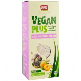 Vegan Plus Terci Bio cu Seminte de Chia si Fructe Uscate Rosen Garten - 500 g