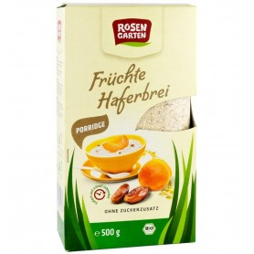 Terci Bio de Ovaz cu Fructe Rosen Garten - 500 g