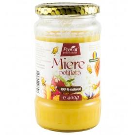 Miere de Albine Poliflora Pronat - 400 g