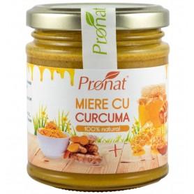 Miere cu Curcuma Pronat - 220 g