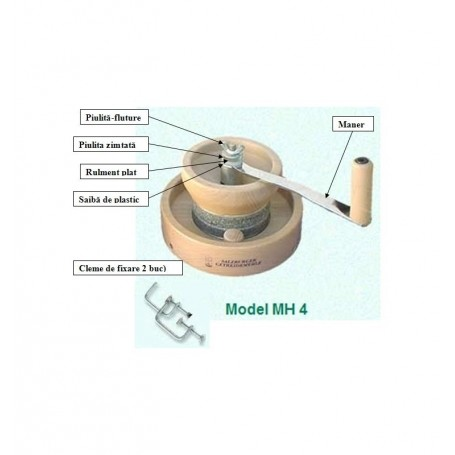 Moara Manuala MH4 N (GRANIT) Vegan Star