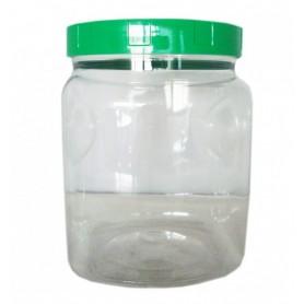 Borcan din Plastic Alimentar - 2000 ML