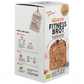 BIOVEGAN - Premix bio pentru paine Fitness, fara gluten, 330g