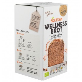 BIOVEGAN - Premix bio pentru paine Wellness, fara gluten, 320g