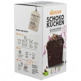 BIOVEGAN - Premix bio pentru prajitura cu ciocolata, 380g