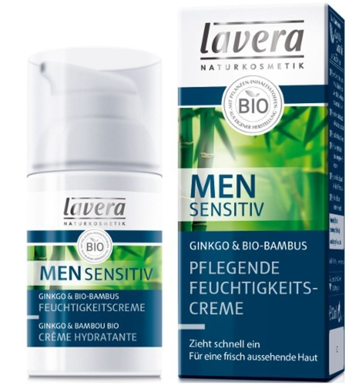 Crema Hidratanta si Hranitoare Men Sensitiv Lavera - 30 ML