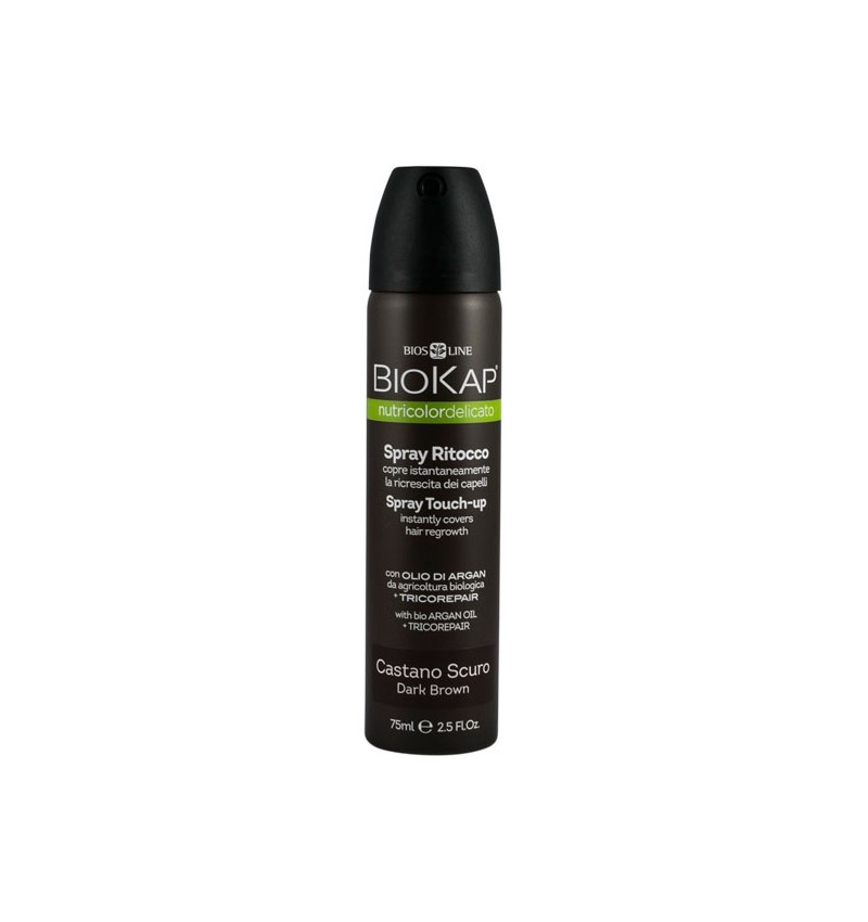 Spray Retus pentru Par Saten Inchis Biokap - 75 ML