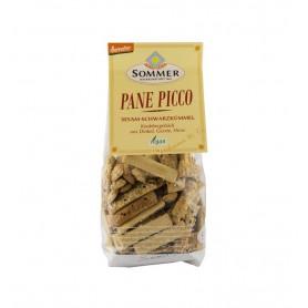 Pane Picco Mini Grisine Bio cu Susan si Chimen Negru Sommer - 150 g