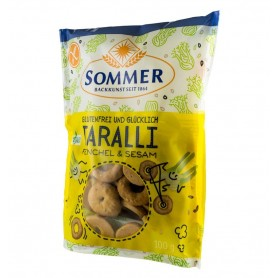 Taralli Bio Fara Gluten cu Fenicul si Susan Sommer - 100 g