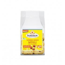 Mini Painici Bio Crocante din Faină de Grau Spelta cu Musli Chia si Merisoare Sommer - 100 g