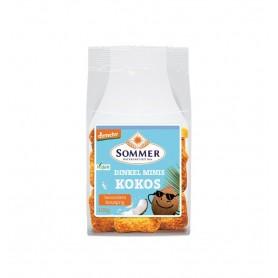 Mini Painici Bio Crocante din Faina de Grau Spelta cu Cocos Sommer - 100 g