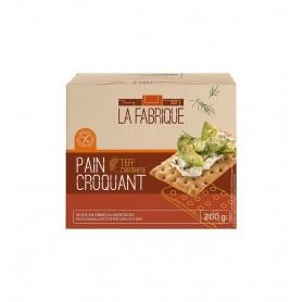 Paine Crocanta cu Teff La Fabrique - 200 g