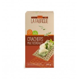 Paine Crocanta Bio Multicereale La Fabrique - 165 g