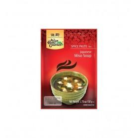 Pasta Condimentata Pentru Supa Japoneza Miso H&S - 50 g