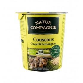 Natur Compagnie - Mancare la pahar Cuscus Ginger Lemongrass, BIO