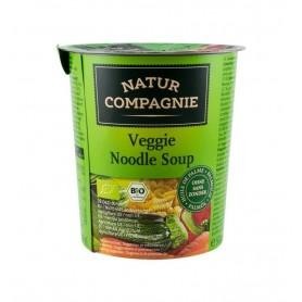 Mancare la Cana - Supa Vegetariana cu Taitei Bio Natur Compagnie - 50 g