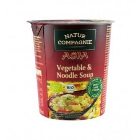 Asia Style - Supa Bio de Legume cu Taitei Natur Compagnie - 55 g