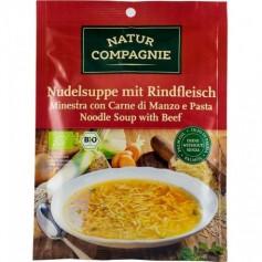 Supa Bio de Taitei cu Carne de Vita Natur Compagnie  - 40 g