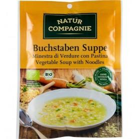 Natur Compagnie - Supa Alfabet, bio, 50g