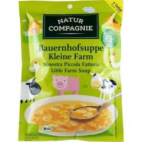 "Natur Compagnie - Supa taraneasca ""Ferma animalelor"", bio, 63g"