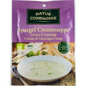 Natur Compagnie - Supa crema de sparanghel, bio, 40g