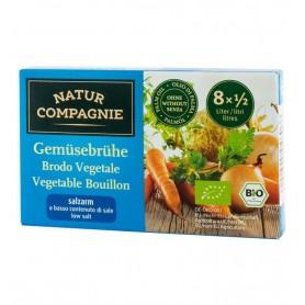 Natur Compagnie - Supa bio de legume cu putina sare, 8 cuburi