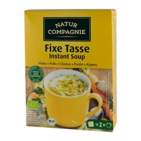 Supa Bio Instant de Pui cu Taitei Natur Compagnie - 34 g