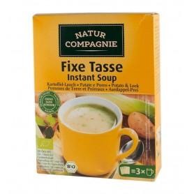 Natur Compagnie - Supa bio instant de cartofi cu praz, 60g