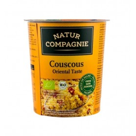 Mancare Bio la Pahar Cuscus Gust Oriental Natur Compagnie - 68 g