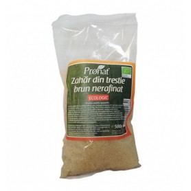 Zahar brun Bio din trestie de zahar, 500 g