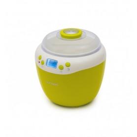 Iaurtiera-fermentator Oursson FE2103D/GA, afisaj LED, 2 programe, 2 L, Protecție la supraîncălzire, Verde