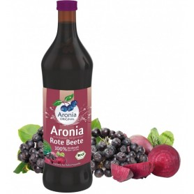 Aronia Original – Suc BIO de aronia cu suc de sfecla rosie lacto fermentat, 700ml
