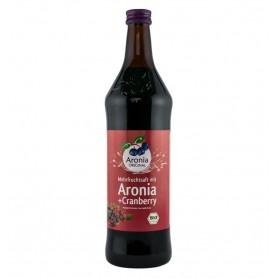 Aronia Original – Suc BIO de aronia cu suc de merișoare, 0,7l