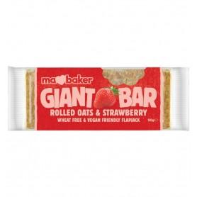 Baton de ovaz cu capsuni 90 gr Ma Baker