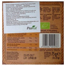 Schock 's - Batoane Bio crocante cu arahide 3x25 g