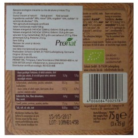 Schock 's - Batoane Bio crocante cu mix de alune si miere 3x25 g