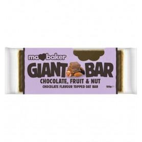 Baton de ovaz cu ciocolata - fructe si nuci 100 g, Ma Baker