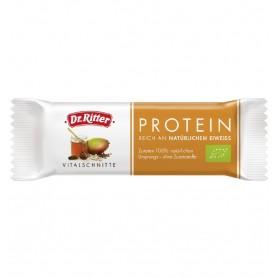 Dr. Ritter - Baton Bio cu proteine, 40g