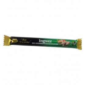 LIEBHART'S BIO AMORINI – Baton de ciocolata Bio Gourmet cu ghimbir, 35 g