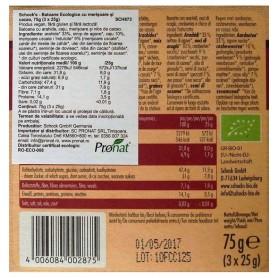 Schock 's - Batoane bio crocante cu merisoare si cacao, 75g (3 x 25g)