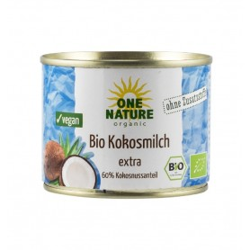 ONE NATURE - Lapte de cocos BIO extra, 200 ml