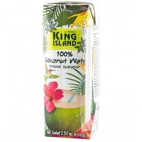 Apa de Cocos 100%, 250 ml King Island