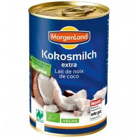 MORGENLAND - Lapte de cocos BIO extra, 400 ml