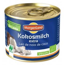 Lapte de cocos BIO extra, 200 ml - MORGENLAND