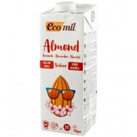 ECOMIL – Bautura Bio natur de migdale, fara zahar, 1 l