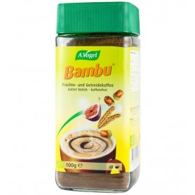 Bambu – Bautura instant bio din fructe si cereale, inlocuitor de cafea, 100 g, Pentru 65 portii