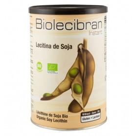 BIOLECIBRAN INSTANT – PUDRA DE LECITINA DIN SOIA BIO, 380 G